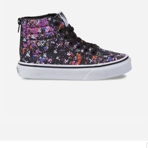 Van's high top floral print